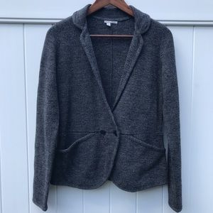 Halogen Gray Wool Blazer